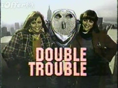 TV DOUBLE TROUBLE COMPLETE 23 EPISODES 3 DVD SET 1984 VERY RARE SHOW SAGEL TWINS