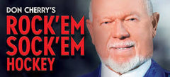 TV DON CHERRY'S ROCK EM SOCK EM HOCKEY VOL 6-9 COMPLETE DVD SET 1994-97