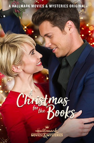 XMAS A CHRISTMAS FOR THE BOOKS 2018 HALLMARK MOVIE DVD