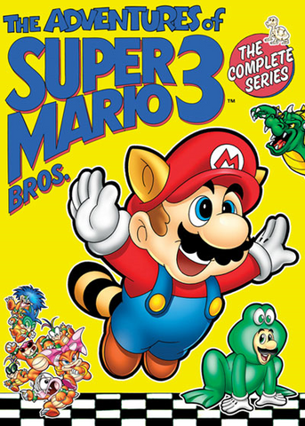 THE ADVENTURES OF SUPER MARIO 3 COMPLETE 26 EPISODES 3 DVD SET