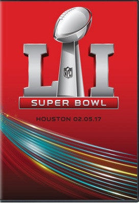 TV SUPERBOWL 51 COMPLETE WITH HALFTIME SHOW Patriots vs Falcons HD FOX NFL DVD