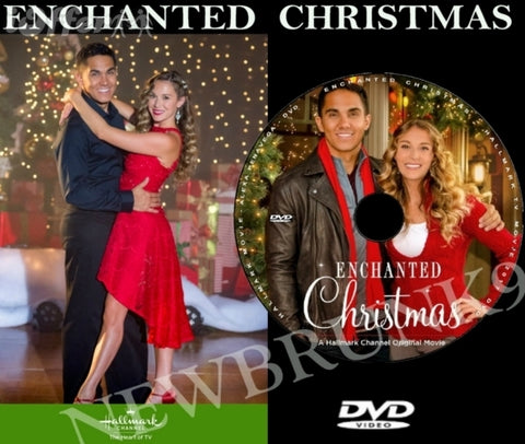 XMAS ENCHANTED CHRISTMAS MOVIE 2017 ON DVD - HALLMARK MOVIES