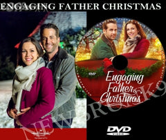 XMAS ENGAGING FATHER CHRISTMAS MOVIE 2017 ON DVD - HALLMARK MOVIES