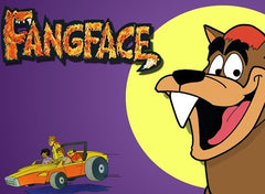 FANGFACE COMPLETE 3 DVD SET 32 EPISODES VERY RARE CARTOON 1978-79