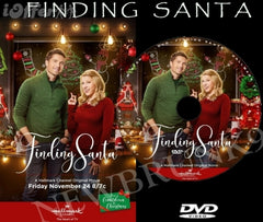 XMAS FINDING SANTA MOVIE 2017 ON DVD - HALLMARK MOVIES
