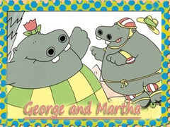 GEORGE AND MARTHA COMPLETE 26 EPISODES DVD SET VERY RARE 1999-2000