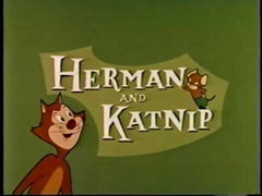 HERMAN & KATNIP COMPLETE KIDS CARTOON 2 DVD SET 1944
