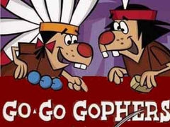 GO GO GOPHERS COMPLETE 48 EPISODES 2 DVD SET VERY RARE CARTOON 1968