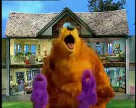 BEAR IN THE BIG BLUE HOUSE 39 EPISODES 5 DVD SET 1997 ...