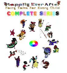 HAPPILY EVER AFTER FAIRY TALES FOR EVERY CHILD CARTOON SERIES VERY RARE DVD SET 1995-2000