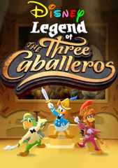 LEGEND OF THE THREE CABALLEROS DVD SET HIGH QUALITY CARTOON VERY RARE