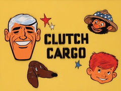 CLUTCH CARGO COMPLETE 57 EPISODES CARTOON DVD SET 1959-61 EXTREMELY RARE SHOW