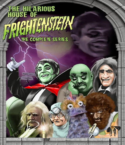 TV Hilarious House of Frightenstein Complete 130 Episodes!! HHOF 1971 EXTREMELY HARD TO FIND DVD SET