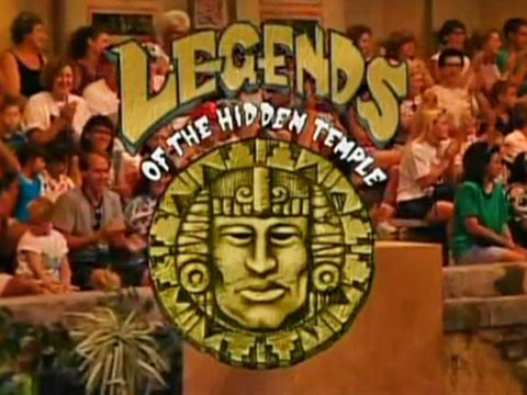 TV LEGENDS OF THE HIDDEN TEMPLE GAME SHOW + MOVIE DVD SET VERY RARE 1993-95