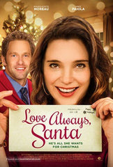 XMAS LOVE ALWAYS SANTA DVD HALLMARK 2016 CHRISTMAS MOVIE