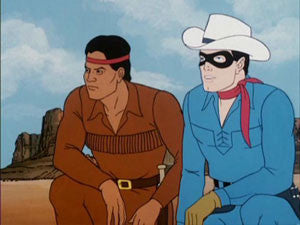 THE LONE RANGER CARTOON (1980) COMPLETE 3 DVD SET 1980-81