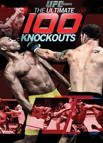 UFC: Ultimate 100 Knockouts DVD
