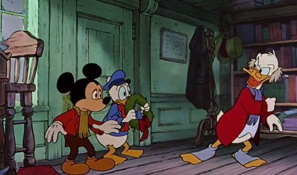 Mickeys Christmas Carol Dvd.Xmas Mickey S Christmas Carol 1983 Cartoon Movie Dvd Xmas Disney Mickeys