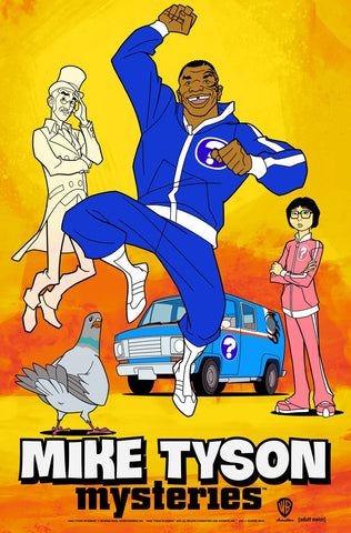 MIKE TYSON MYSTERIES COMPLETE SEASON 1 & 2 (30 EPISODES) 3 DVD SET