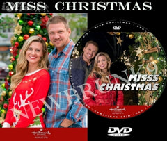 XMAS MISS CHRISTMAS MOVIE 2017 ON DVD - HALLMARK MOVIES