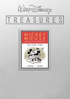 WALT DISNEY TREASURES MICKEY MOUSE VERY RARE 8 DVD SET 1928-PRESENT