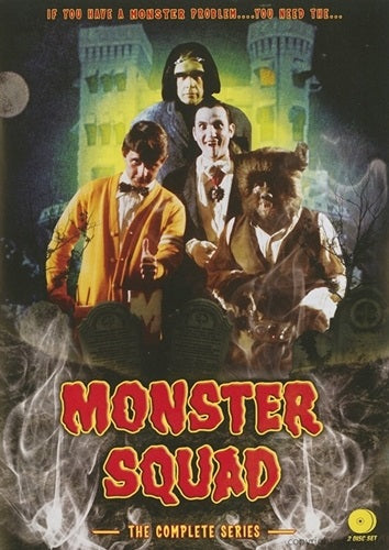 TV THE MONSTER SQUAD COMPLETE 13 EPISODE TV SHOW 2 DVD SET VERY RARE 1976-77