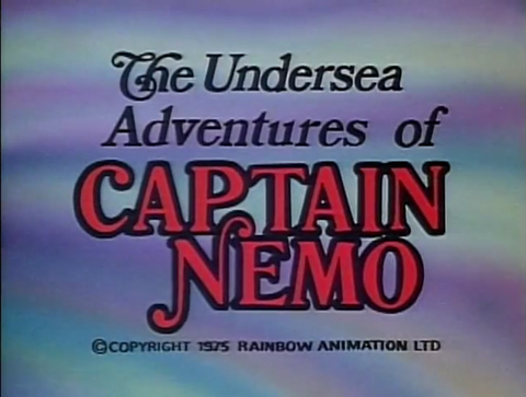 THE UNDERSEA ADVENTURES OF CAPTAIN NEMO 1975 CARTOON DVD