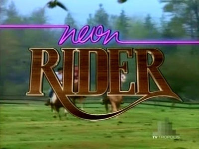 TV NEON RIDER COMPLETE 15 DVD SET VERY RARE CANADIAN SHOW 1989-1995