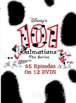 101 Dalmatians The Series Complete 12 DVD Set 1996
