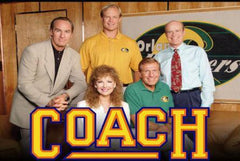 TV COACH : COMPLETE SERIES! 9 SEASONS ON 32 DVDS! CRAIG T. NELSON! 1989-97