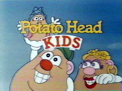 Potato Head Kids 13 Episode DVD Collection Cartoon RARE 1986-87 Show