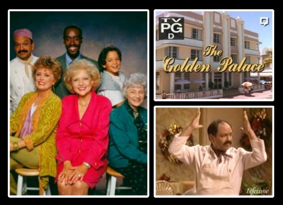 TV THE GOLDEN PALACE COMPLETE 24 EPISODES GOLDEN GIRLS