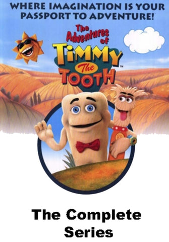 TIMMY THE TOOTH COMPLETE 2 DVD SET EXTREMELY HARD TO FIND KIDS SHOW 1995