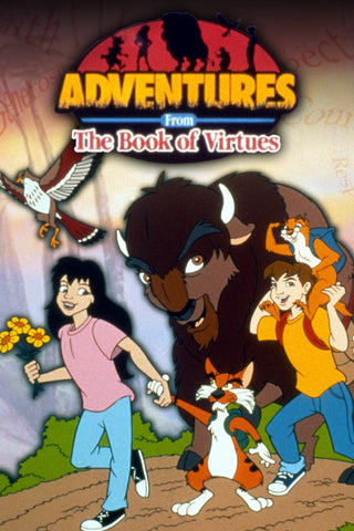 ADVENTURES FROM THE BOOK OF VIRTUES 37 EPISODES 1996-2000 3 DVD SET VERY RARE CARTOON