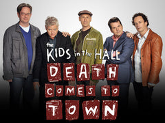TV KIDS IN THE HALL MOVIE WHEN DEATH COMES TO TOWN DVD 2009