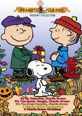 CHARLIE BROWN PEANUTS HOLIDAY COLLECTION DVD 70s 80s 90s