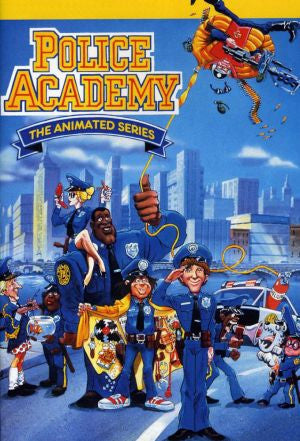 POLICE ACADEMY THE ANIMATED SERIES 1988-89 RARE 3 DVD SET