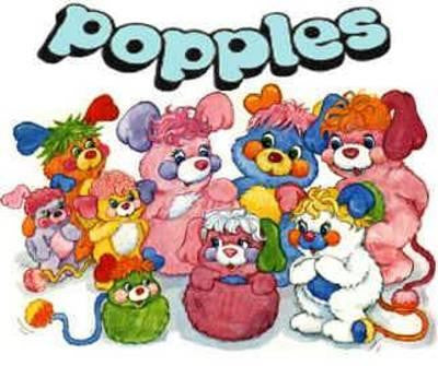THE POPPLES KIDS CARTOON 4 DVD SET 1986-88 VERY RARE SHOW