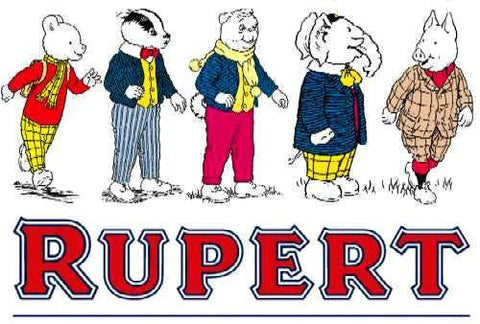 RUPERT COMPLETE 65 EPISODES KIDS CARTOON SHOW 1991 5 DVD SET VERY RARE