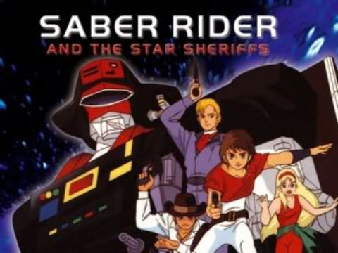 SABER RIDERS & THE STAR SHERIFFS COMPLETE 52 EPISODES KIDS 8 DVD SET 1987-88 VERY RARE
