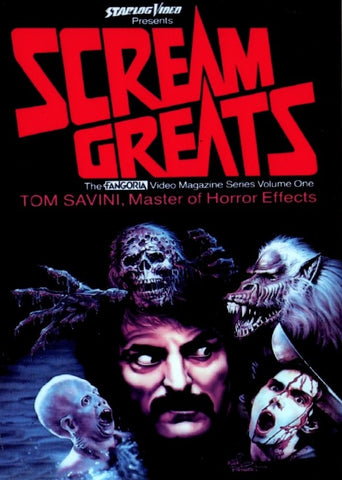 TV SCREAM GREATS COMPLETE DVD TOM SAVINI GEORGE ROMERO VERY RARE 1986