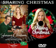 XMAS SHARING CHRISTMAS MOVIE 2017 ON DVD - HALLMARK MOVIES