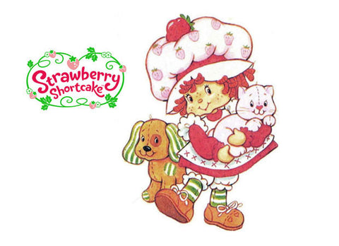 STRAWBERRY SHORTCAKE DVD ALL 6 TV SPECIALS CARTOONS 1980-85