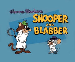 SNOOPER AND BLABBER CAT & MOUSE DETECTIVE COMPLETE CARTOON 2 DVD SET 45 EPISODES 1959-60