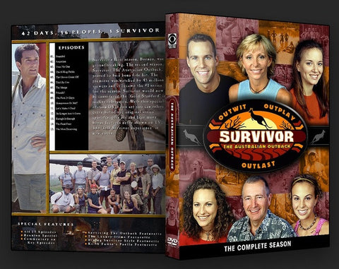 TV SURVIVOR SEASON 02 AUSTRAILA 6 DVD SET