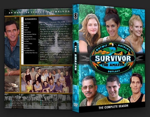 TV SURVIVOR SEASON 06 AMAZON 6 DVD SET