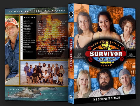 TV SURVIVOR SEASON 07 PEARL ISLANDS 4 DVD SET