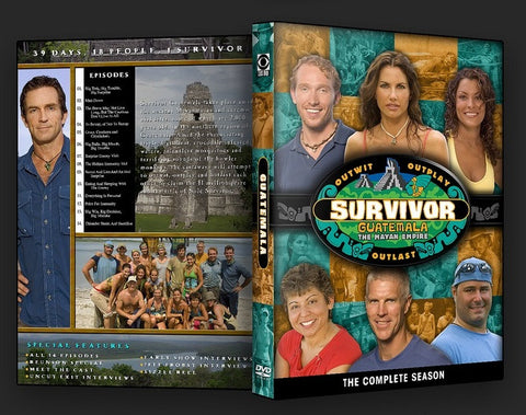 TV SURVIVOR SEASON 11 GUATEMALA 6 DVD SET