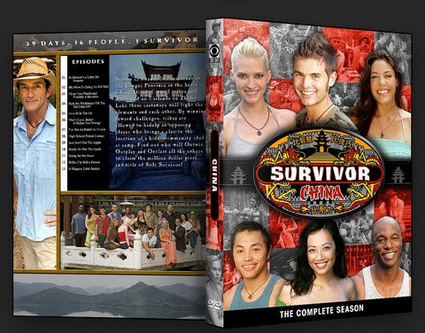 TV SURVIVOR SEASON 15 CHINA 4 DVD SET