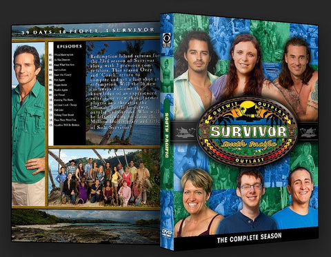 TV SURVIVOR SEASON 23 SOUTH PACIFIC 6 DVD SET